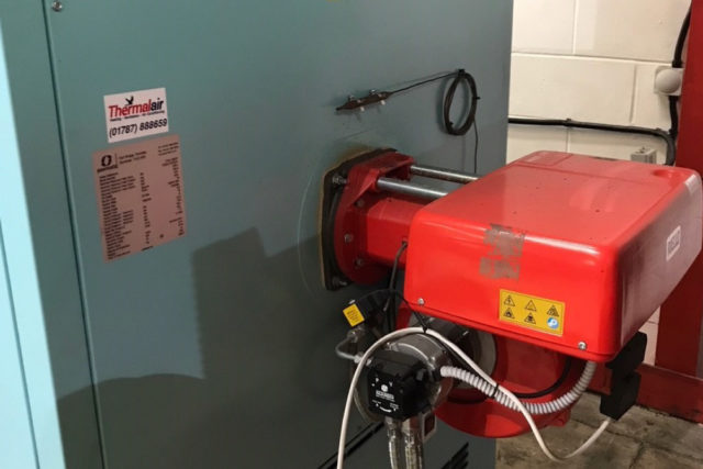 Oil Pump and Heating a Warehouse